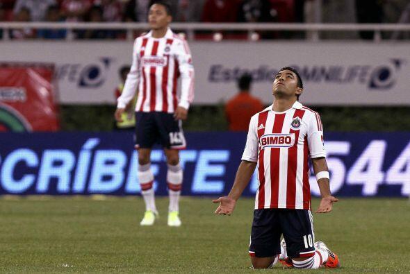 Desde el 2011 el Guadalajara ha terminado los torneos en el fondo de la...