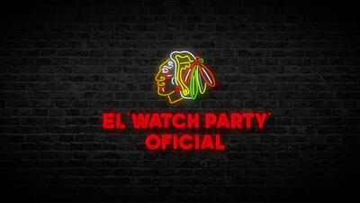 Blackhawks Watch Party contra Dallas