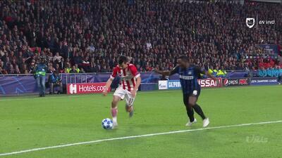 Gran jugada de 'Chucky' y Handanovic le quitó un golazo al PSV