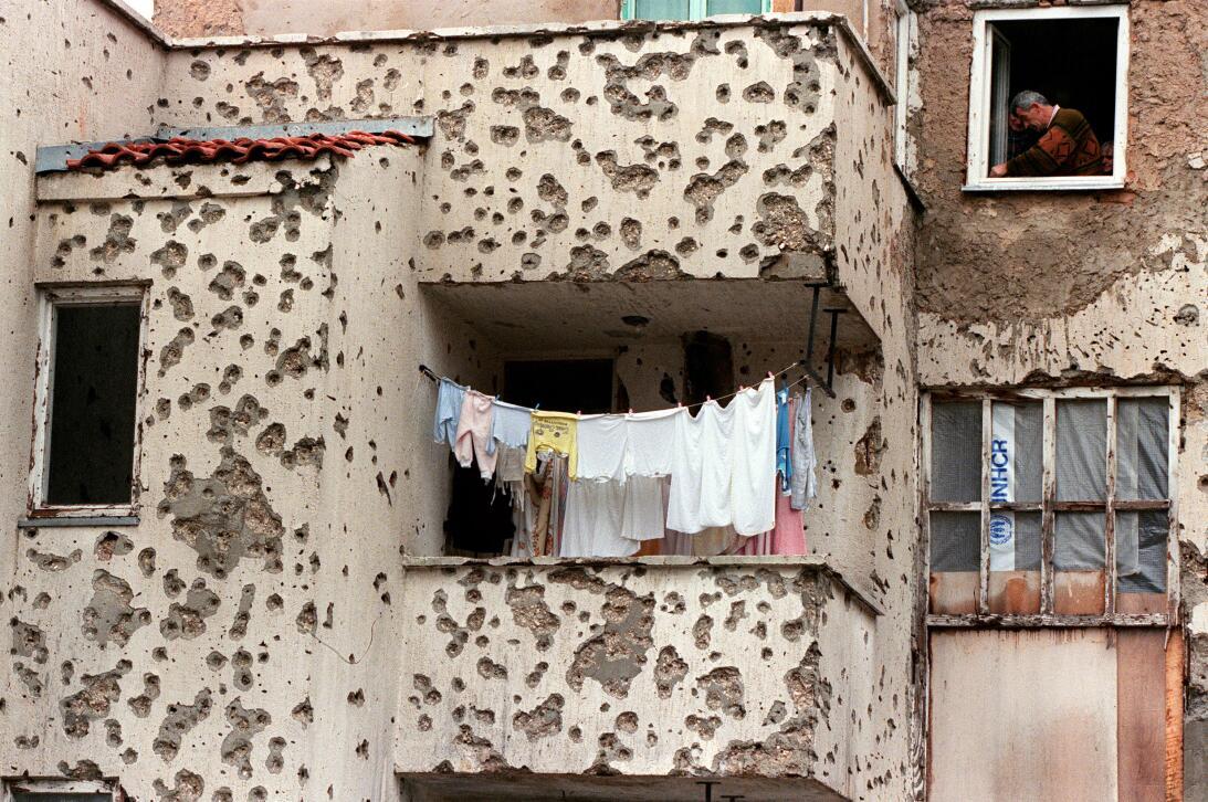 Slobodan Praljak. Mostar.