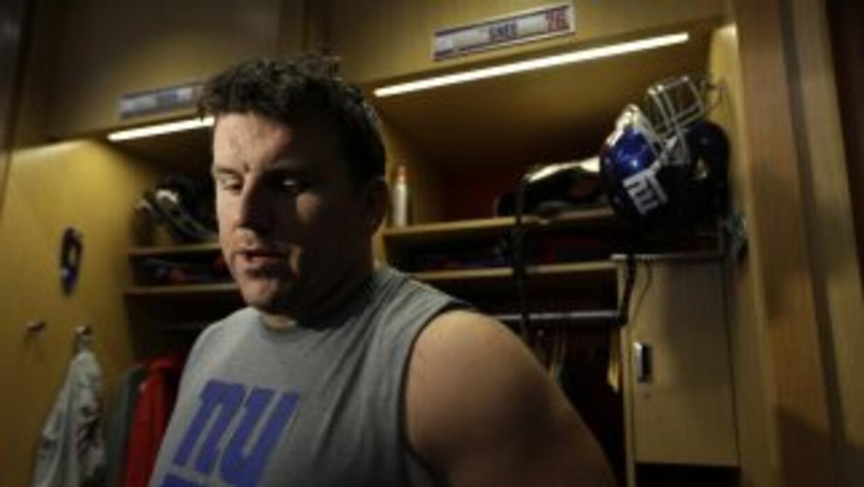 Chris Snee se quedará en los Giants (AP-NFL).