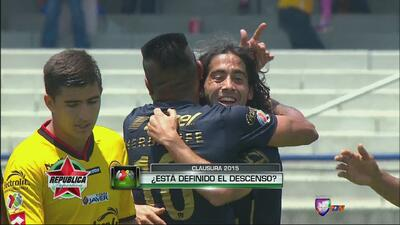 Pumas 2-0 U. de G.: Los auriazules dejan heridos a los Leones Negros