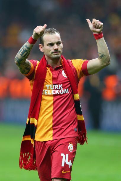 EL Galatasaray mejoró su imagen pero no le alcanzó.