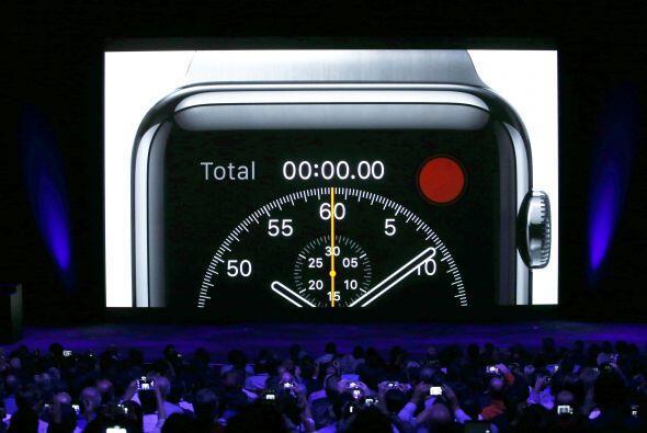 El Apple Watch llegará a las tiendas a principios de 2015 con un precio...
