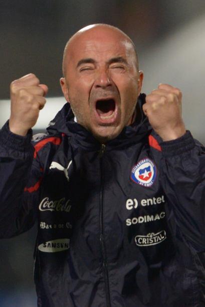 Jorge Sampaoli. DT de la Selección Chilena de Futbol. 13 de marzo de 196...