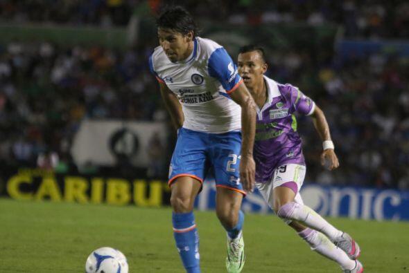 Joao Rojas tampoco ha contribuido en el ataque de la Máquina pese a juga...