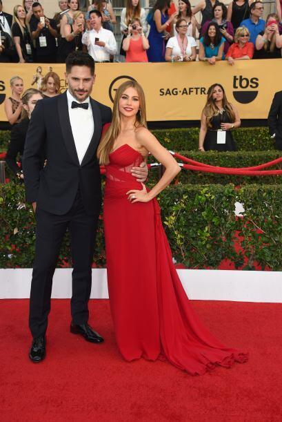 Sofía una vez más impactó con su presencia en la alfombra roja.