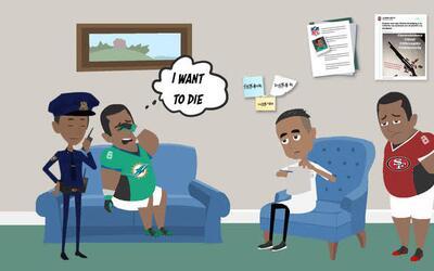 Fue detenido por amenaza de tiroteo hacía su preparatoria y excom...