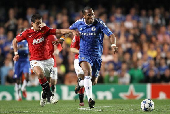 Con su gol anotado ante el Chelsea, se convirtió en el primer jugador en...