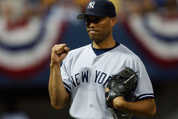 El número 42 es el número que usa Mariano Rivera en su camisa, la misma...