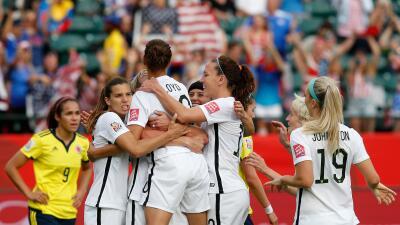 Ahora el conjunto estadounidense jugará en cuartos de final ante China.