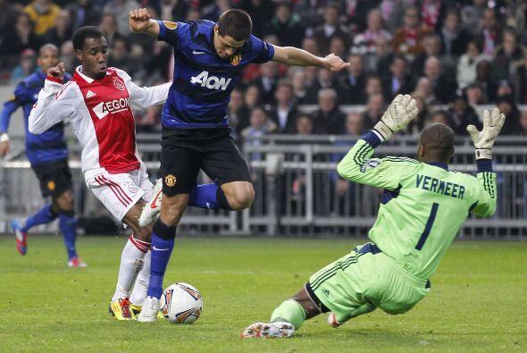 Los 'Red Devils' se metieron a Holanda para medirse con el Ajax en el du...