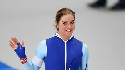 Belleza a la carrera: las atractivas patinadoras de velocidad en los Olímpicos de Invierno