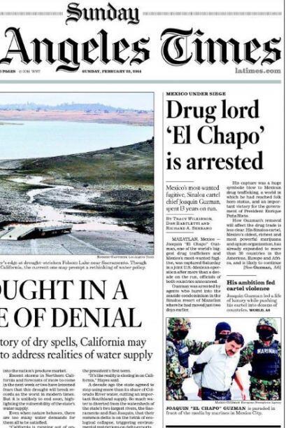 Los Angeles Times no fue le excepción.