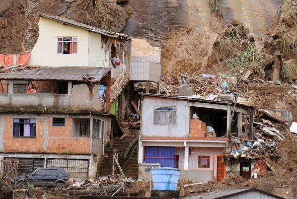 Brasil ha sido azotado por fuertes lluvias que han cobrado la vida de al...