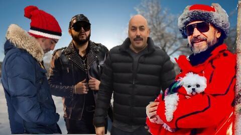 A estos cantantes del regional mexicano el frío les pela los dientes.