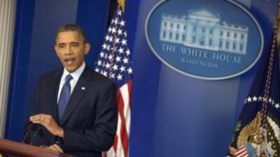 El presidente Barack Obama recomendó a Grecia no salirse de la Zona Euro.