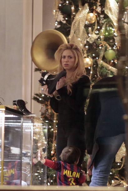 Shakira antes de Navidad. Mira aquí los videos más chismosos.