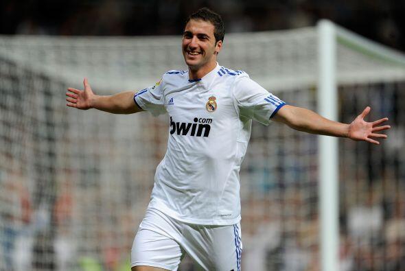 Gonzalo Higuaín es uno de los hombres gol del Real Madrid, pero tras su...