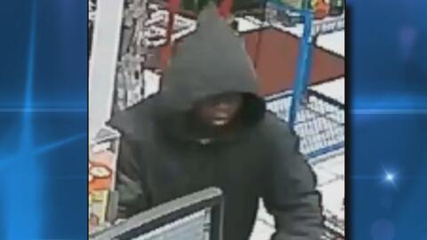 Policía busca al sujeto que estaría cometiendo robos a mano armada en ga...