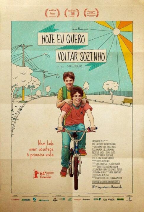 Hoje Eu Quero Voltar Sozinho(2014), BrasilDirector: Daniel RibeiroRepart...
