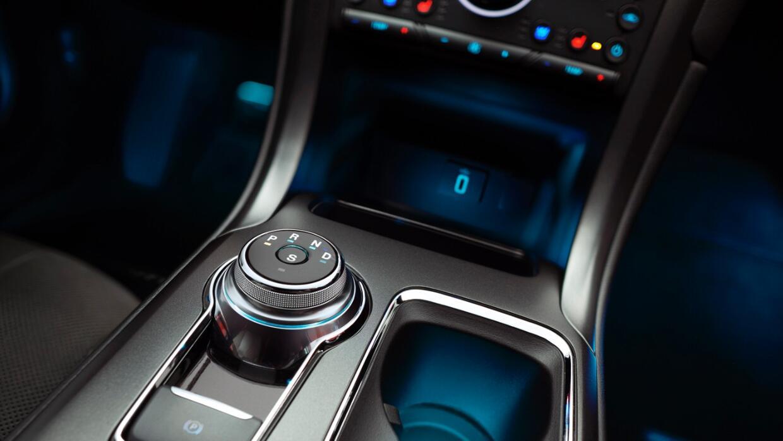 Nuevo selector de cambios rotativo en el Ford Fusion 2017