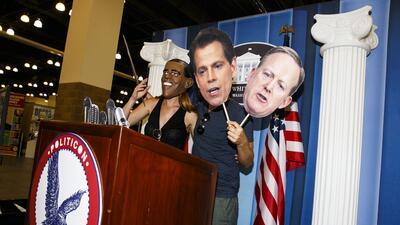 En fotos: el Politicon, una convención política nada convencional