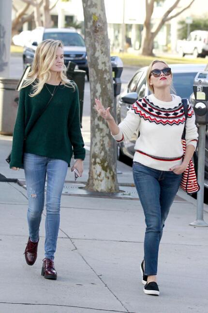 Reese y su hija, se ven freaky una junto a la otra WB_RWAHID151214_11.jpg