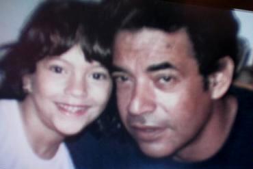 Satcha Pretto con su papá