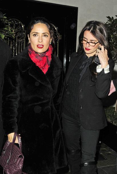 Recordemos que su amistad es tan grande, que cuando Salma anunció la can...