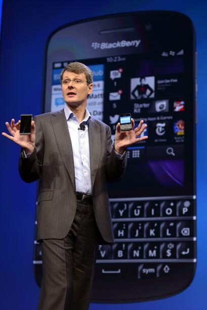 Blackberry es  el emblemático smartphone que la hizo famosa, en e...