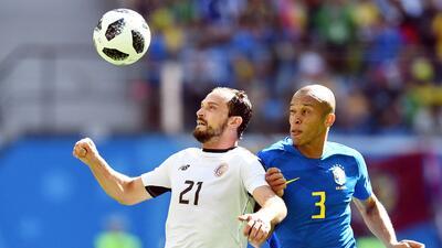 """Para Marco Ureña """"Costa Rica está orgullosa"""" por el partido que le hicieron a Brasil"""