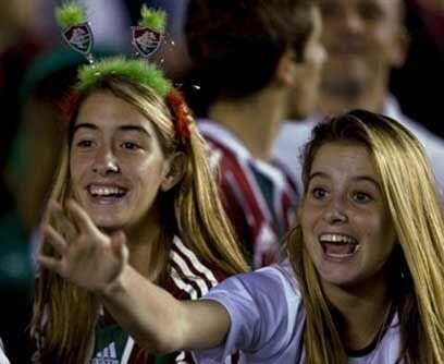 La Copa también es de ellasEllas también gritan presente, la Libertadore...