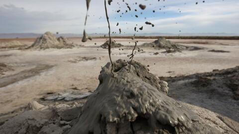 Campo geotérmico ubicado en el extremo sur de la falla de San And...