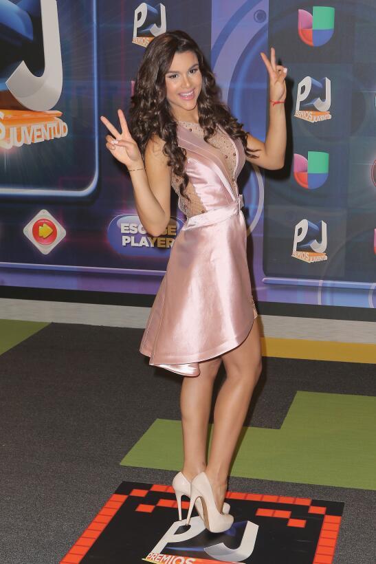 Clarissa Molina en Premios Juventud 2015.