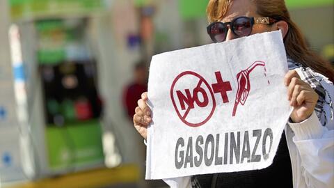 El 'gasolinazo' en México ha generado protestas.