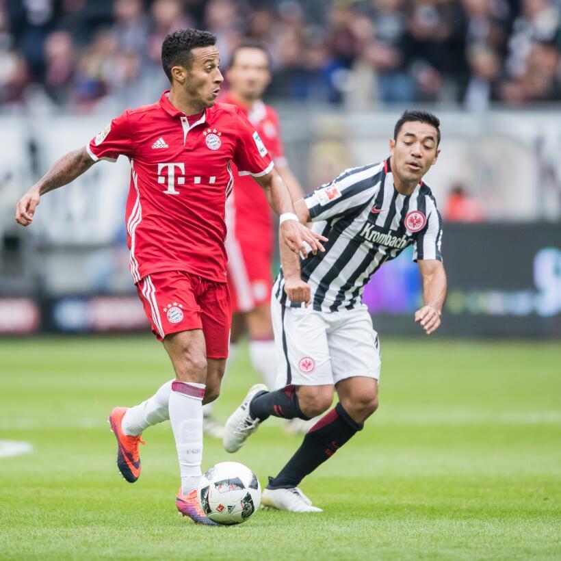 En imágenes: Marco Fabián y su brillante actuación ante Bayern Munich Ge...