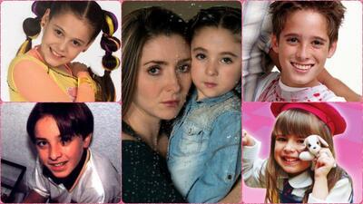 Los niños famosos de las telenovelas que nos robaron el coraz&oac...