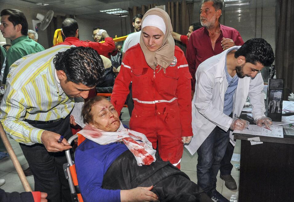 Ataque químico Siria