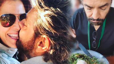 Alessandra Rosaldo no entiende la forma de comer de Eugenio Derbez