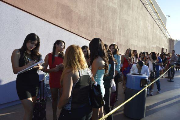 Desde la madrugada hasta la última chica en la fila, estuvimos presentes...