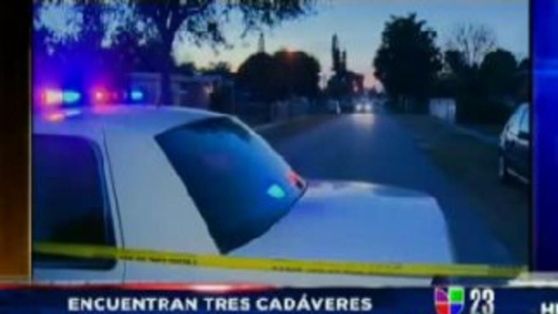 La policía de North Miami halló a dos mujeres y un hombre muerto en una...