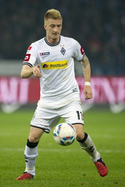 Reus juega en el Borussia Mönchengladbach, tiene 22 años y es un gran pr...