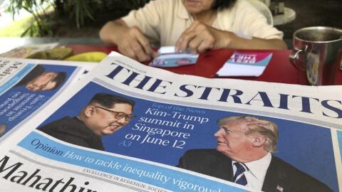 El encuentro entre el presidente Trump y  Kim Jong Un está previs...