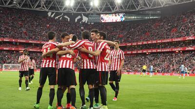 El Espanyol de Diego Reyes perdió en su visita a San Mamés