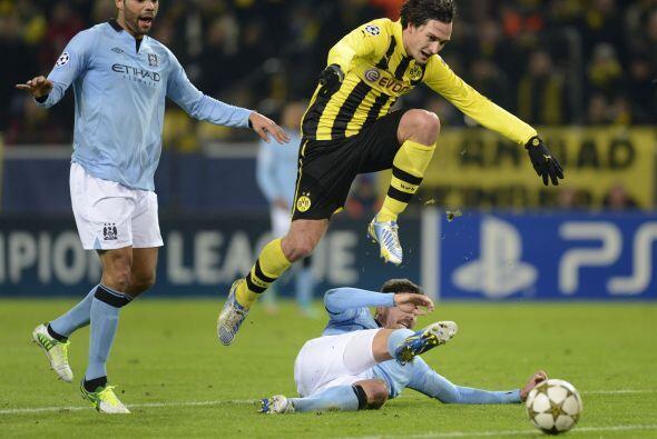 Por su parte, en duelo del mismo grupo, el Manchester City que ya estaba...