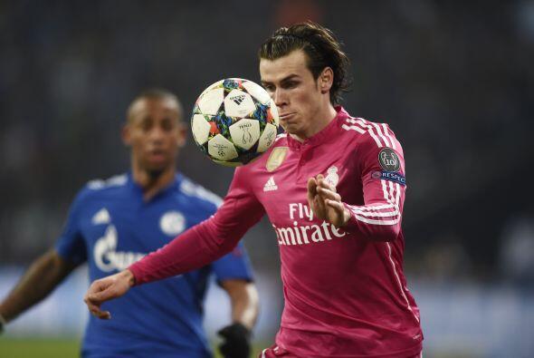 Gareth Bale y su velocidad complicaron a los defensores del cuadro alemá...