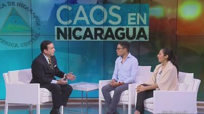 """""""Claramente el régimen de Daniel Ortega ha perdido el control del país"""": Víctor Cuadras, estudiante nicaragüense"""