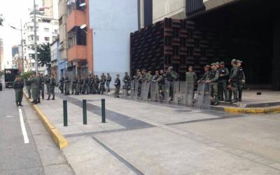 Imagen publicada por Luisa Ortega, fiscal general de Venezuela, para den...