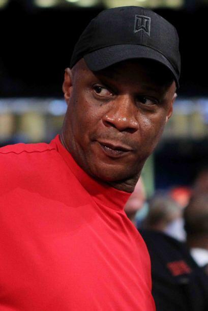 La figura de los Yankees, Darryl Strawberry, fue uno de los espectadores...